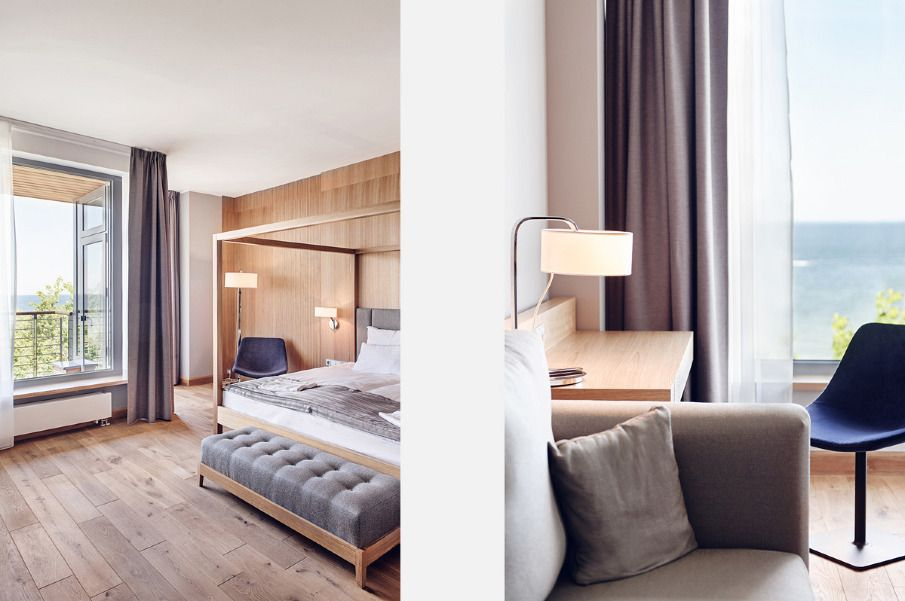 hotel mera in poland by loft magdalena adamus - Rustic Hotel Decorating