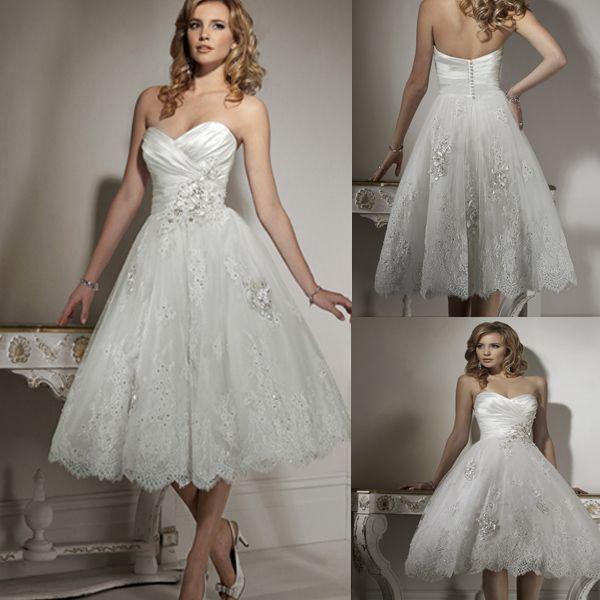 Short Cute Wedding Dresses - Ocodea.com