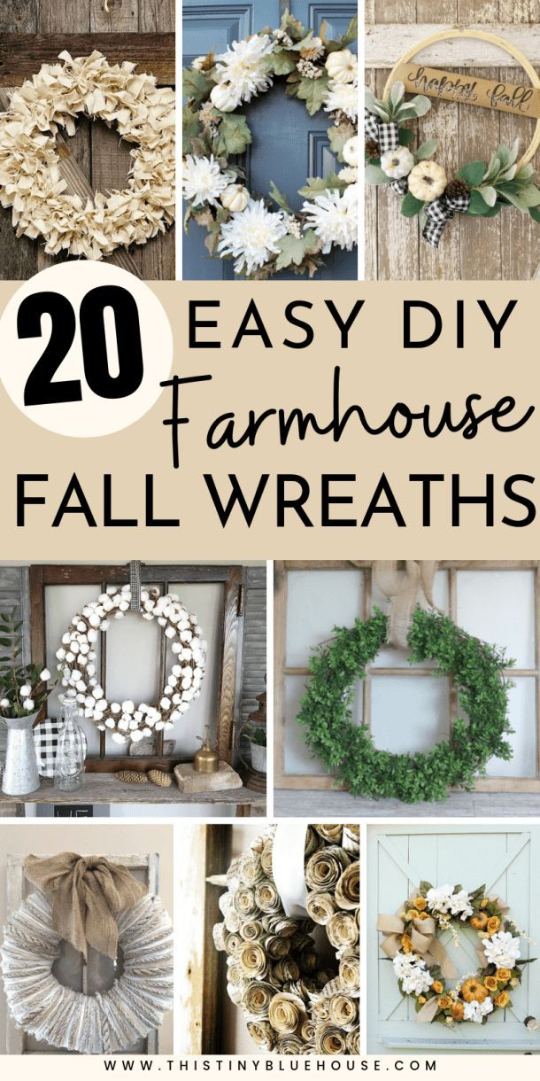Photo of 60 Ultimate Best DIY Farmhouse Fall Decor Ideas – This Tiny Blue House