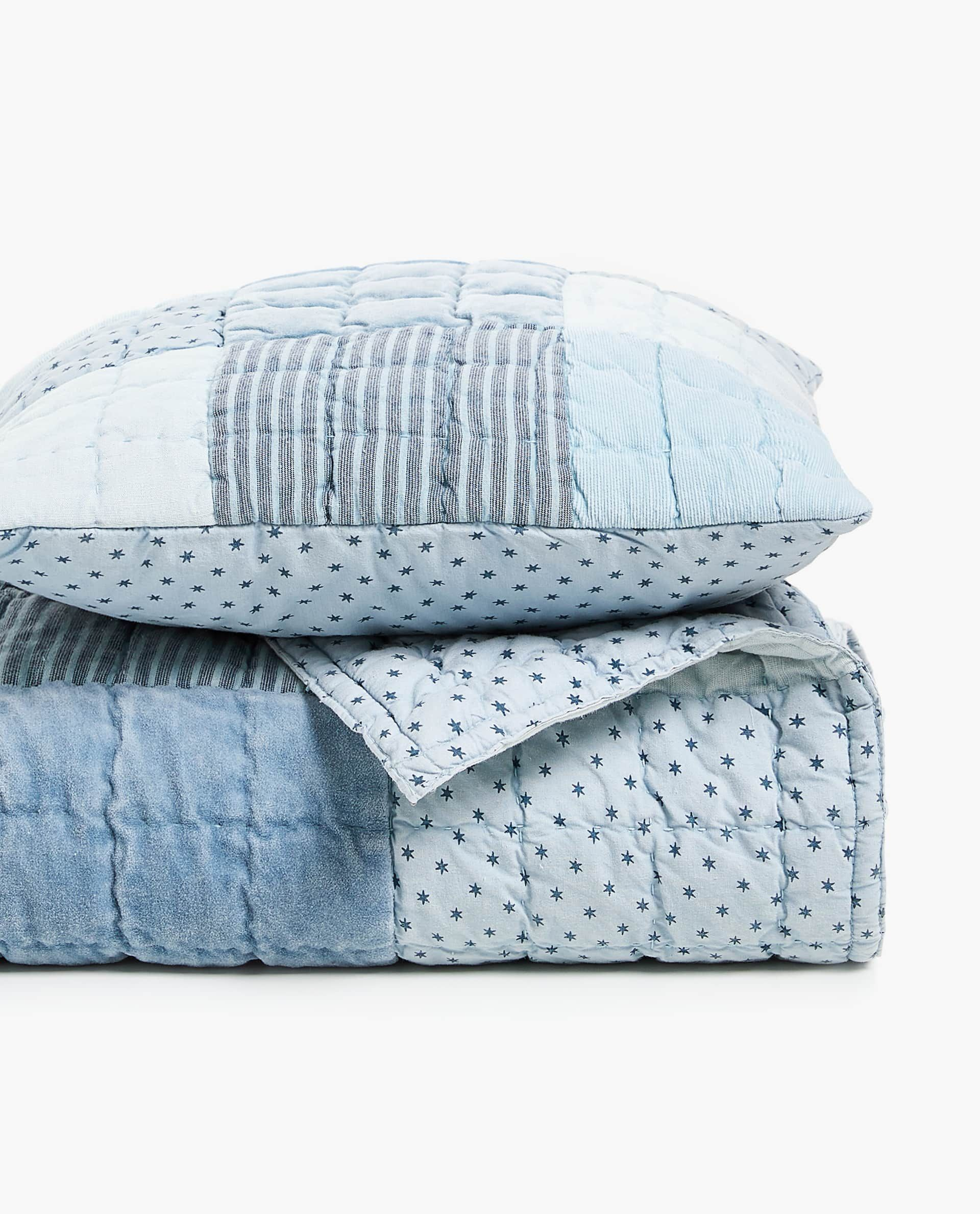 BLUE PATCHWORK QUILT | Zara home, Kids bedtime, Patchwork ...