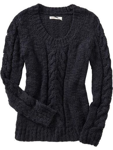 Cable Knit Sweater Style Chunky Cable Knit Sweater