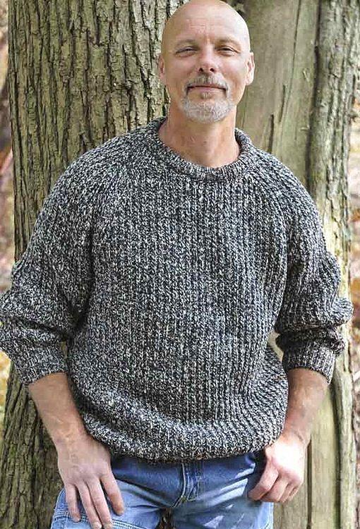 DONEGAL FISHERMANS CREW RIB SWEATER   Men sweaters pattern ...