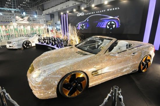 World's Most Expensive Car Mercedes with 300,000 Diamonds – $4.8 ...
