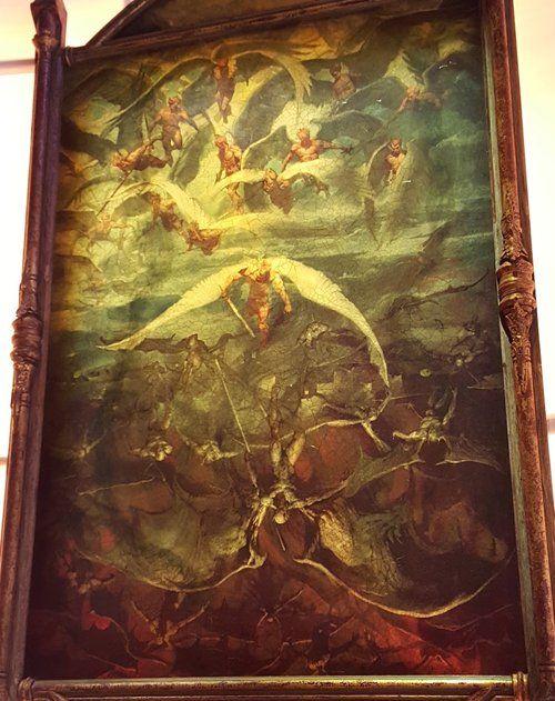 angels demons batman vs superman - Google Search | tattoo ideas