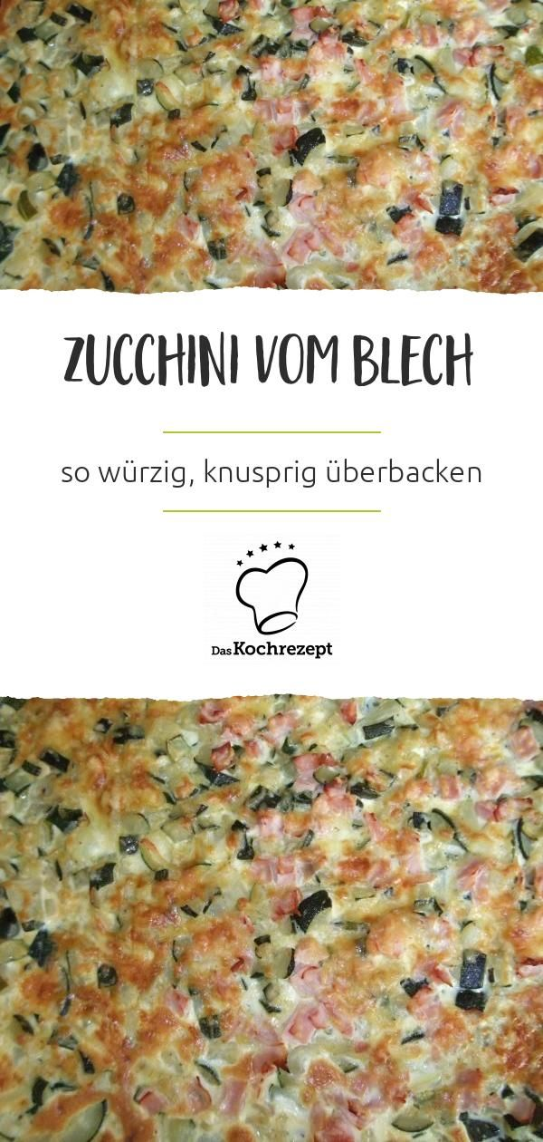 Blätterteig-Zucchini-Quiche