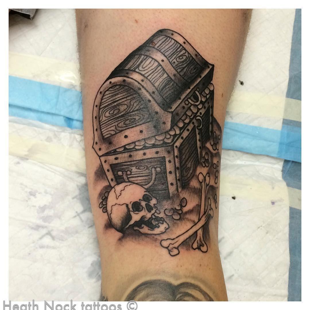 Treasure Chest Tattoo: Treasure Chest Tattoo