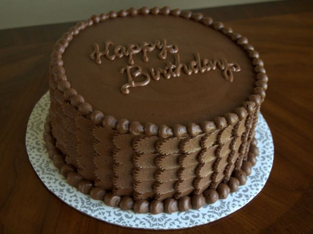 Chocolate birthday cake chocolate birthday cake for Adult birthday cake decoration