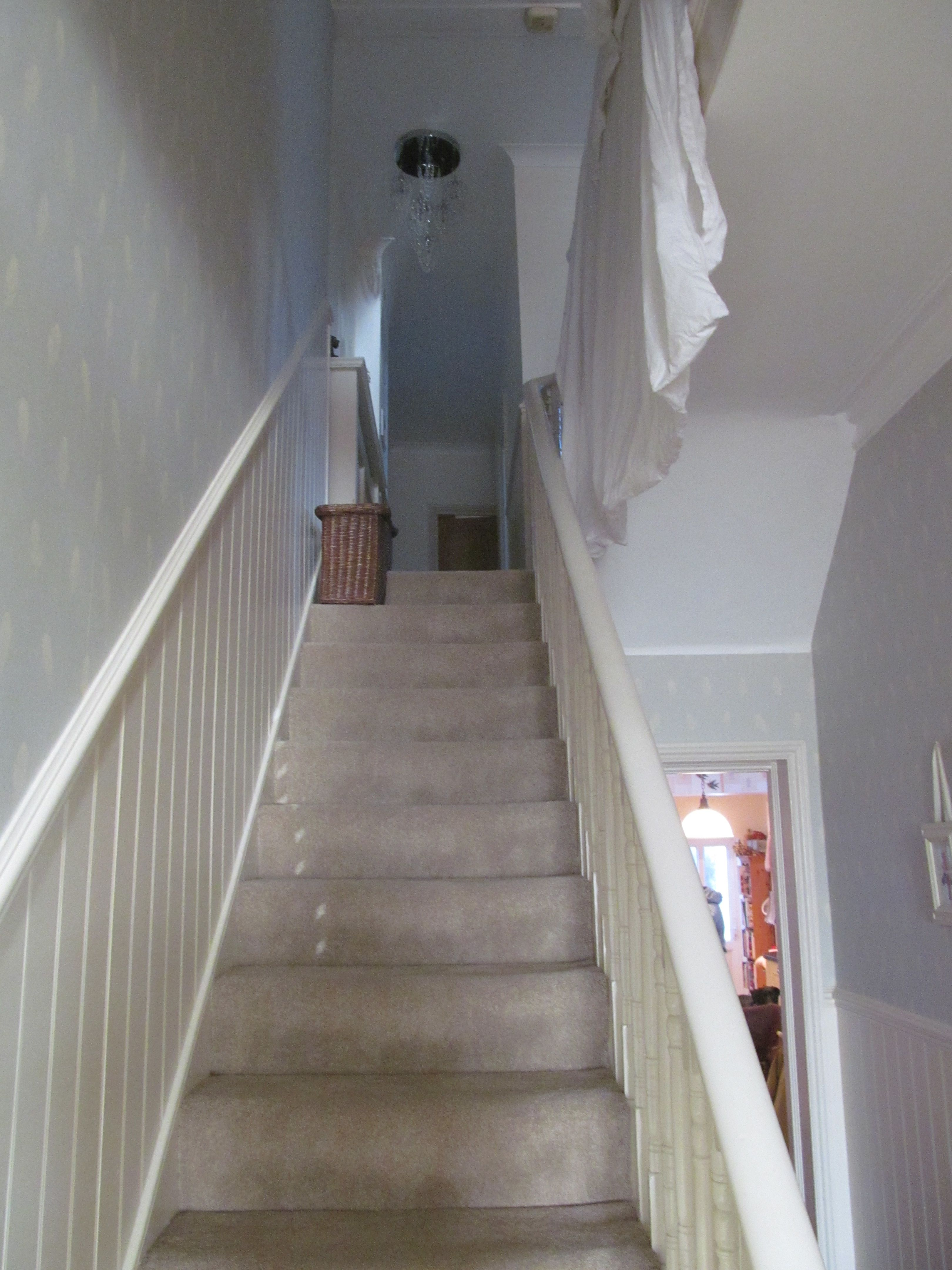 Paneled Staircase Read And Bead Stair Panelling X Tongue And Groove And