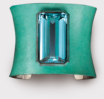 Hemmerle Aquamarine White gold Copper 2006