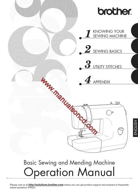 Brother LX40 Sewing Machine Instruction Manual Sewing Machine Best Brother Sewing Machine Lx3125