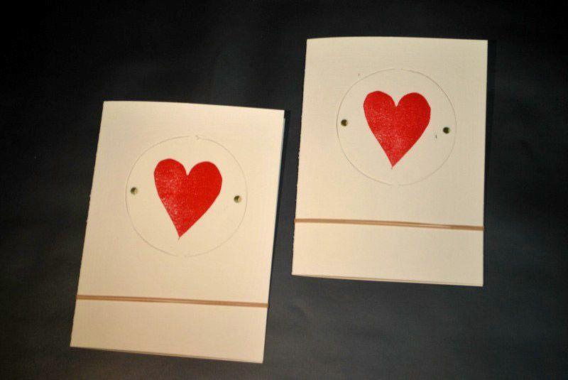 Saint-Valentin 2013 - cartes L'abricot