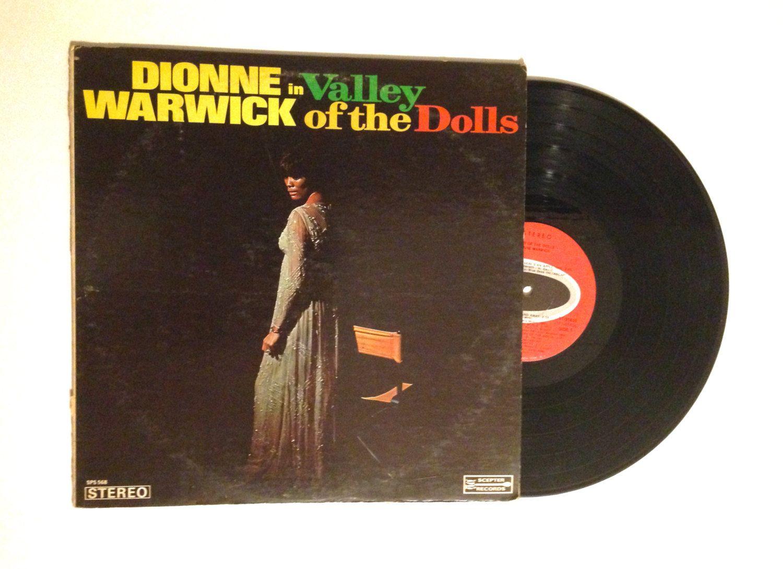 Dionne Warwick Valley Of The Dolls Lp Album 1968 Funk Soul Soundtrack Silent Voices Vinyl Record With Images Lp Albums Valley Of The Dolls Vinyl Records