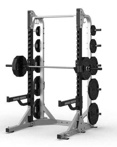 Hammer Strength Half Rack Bauch Weg