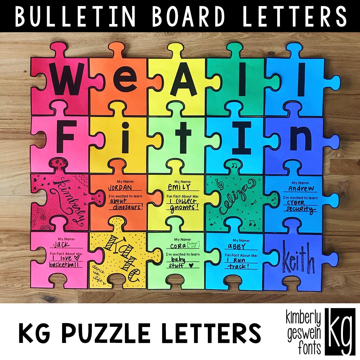 Details about  /Bulletin Board Puzzle Decor