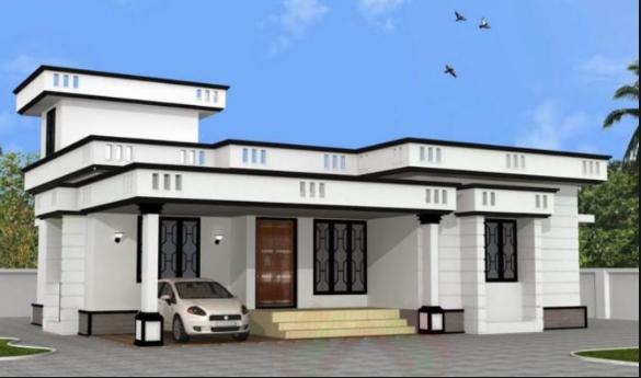 Normal House Design Model House Plan Kerala House Design 1200 Sq Ft House