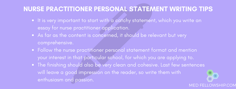 If you are not sure how to write a nurse practitioner