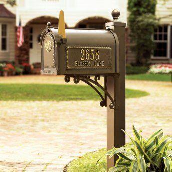 Oncetrip Com Mailbox Monogram Mailbox Post Mailbox