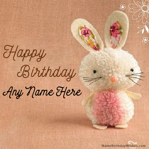 Cute Kitty Happy Birthday Wishes With Name Birthday