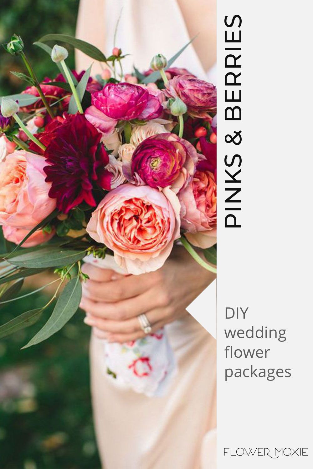 Get Inspired By Our Wedding Flower Packages Mix Match Flowers To Achieve The Look You Diy Bridesmaid Bouquet Wedding Flower Packages Online Wedding Flowers