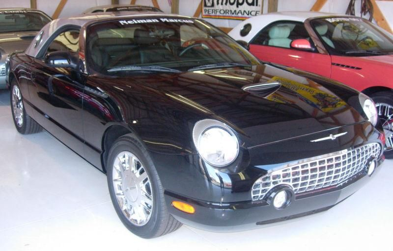 Ford Thunderbird Limited Edition 4 Limited Edition Ford Thunderbird Cars 2002 2005 Soft Hard Top Convertibles