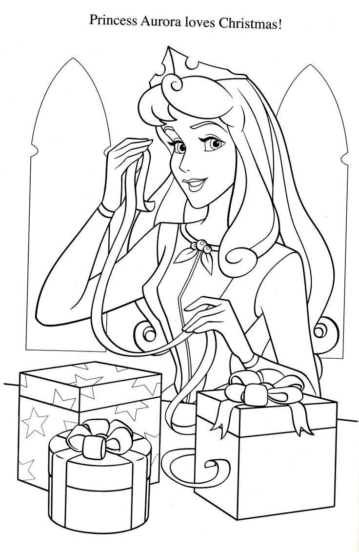 coloriage la belle au bois dormant  Disney princess coloring