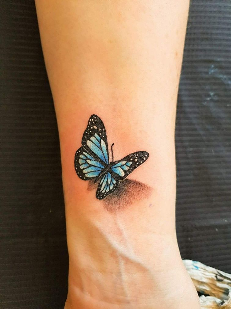 Pink Butterfly 3d Tattoo 3d Butterfly Tattoo 3d Tattoo
