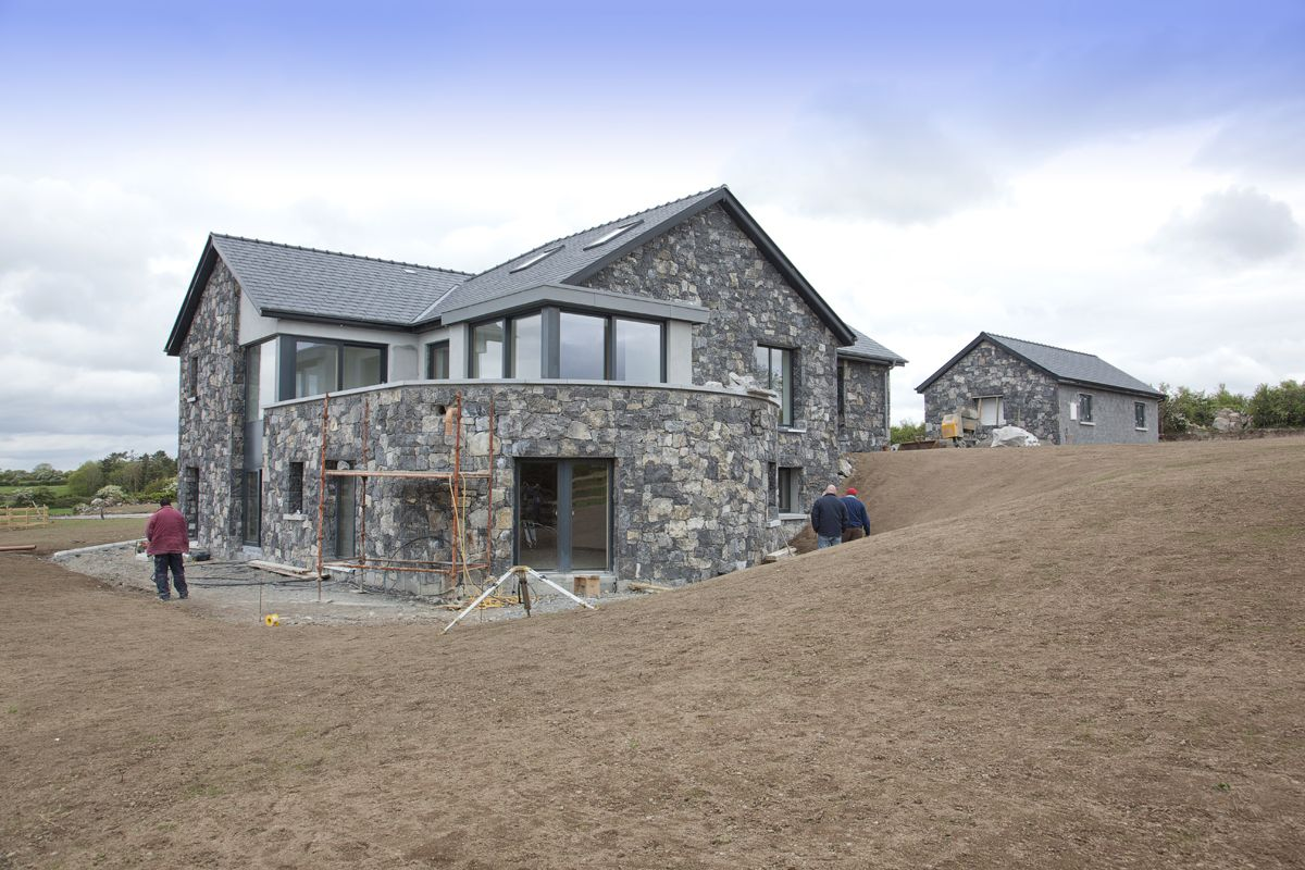 Irish Stone Houses Irish Stone Cladding New Homes In 2019 Damas