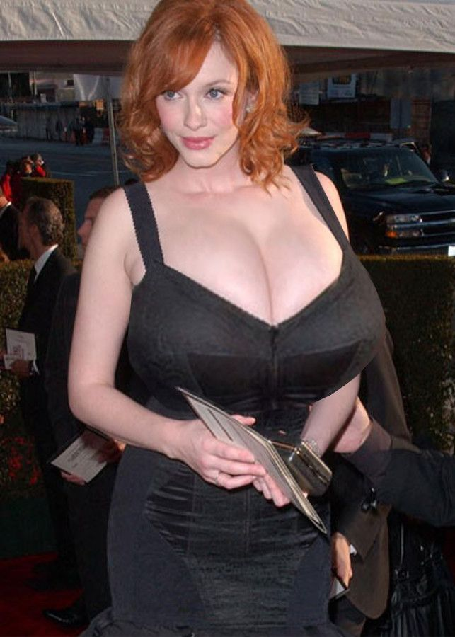 Big breast sex christina hendricks
