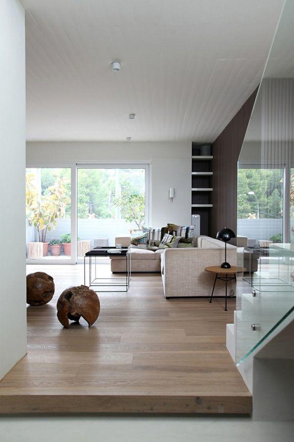 Japanische Einrichtung Von Esé Studio   Wohnung Renovieren, Haus Umbau,  Wohnzimmer Design, Dachgeschoss