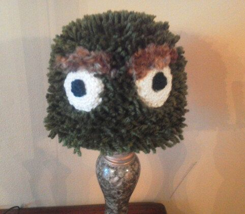 981948dab8a Oscar the grouch hat by CreationsByNonnie on Etsy