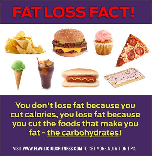 There is a Right Time for and there is a Wrong Time for Carbs. As well as the Right Carbs your body can use :)  Visit me for more great tips:  http://www.flaviliciousfitness.com/