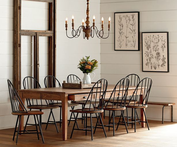 On my recent shopping trip i checked out joanna gaines new for Joanna gaines dining room designs