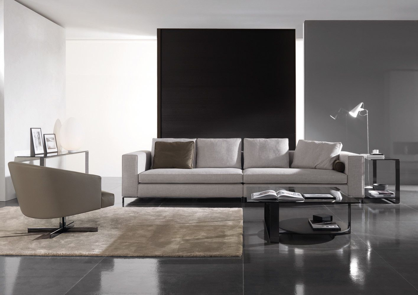 Sofá CSF1028 | Minotti, Interior design, Sofa design