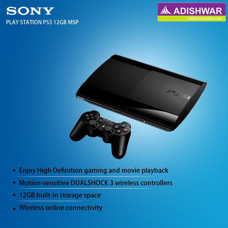Exciting Bundle offer of PS3 12GB with Move Starter Pack