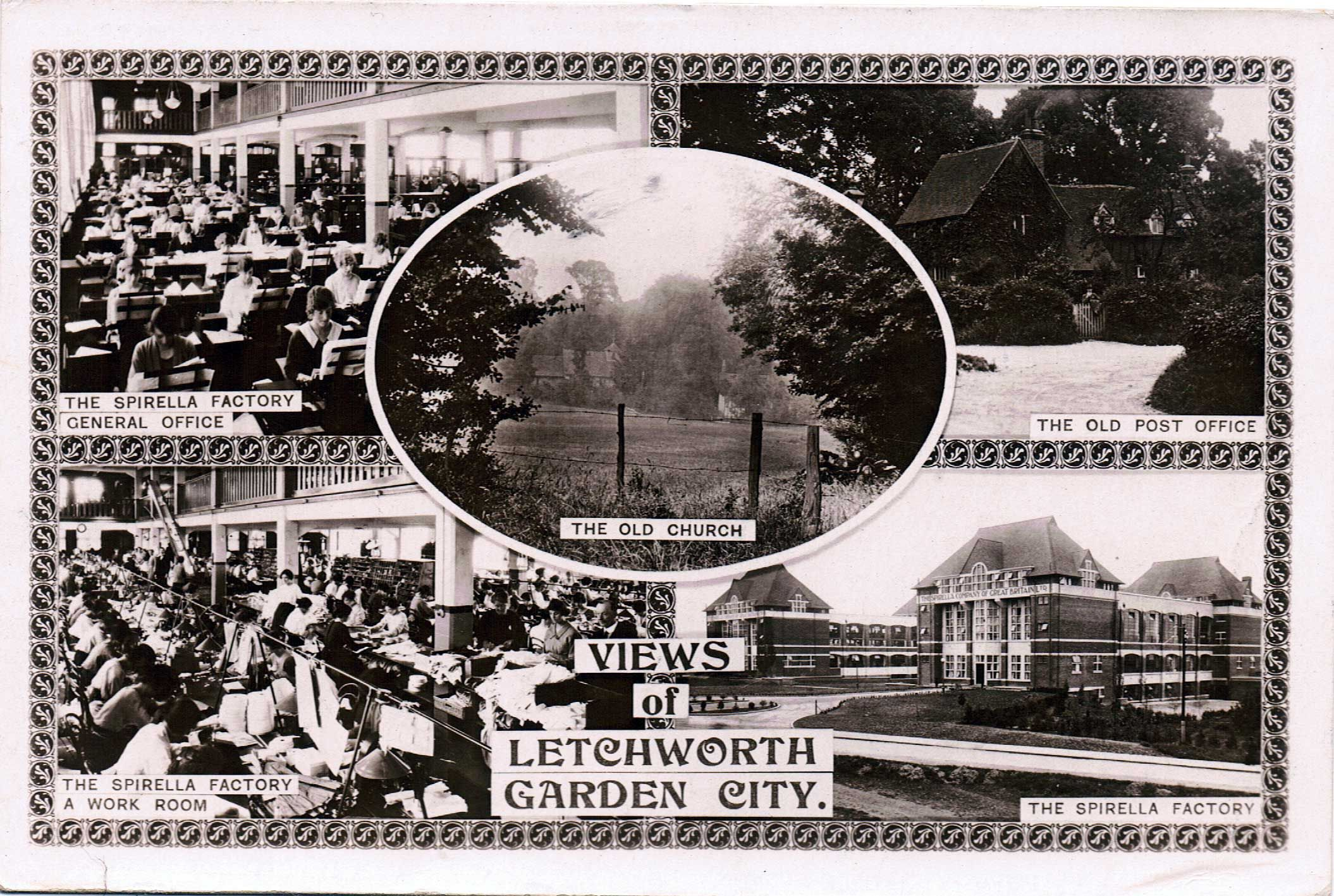 Letchworth Garden City Letchworth garden city, Garden