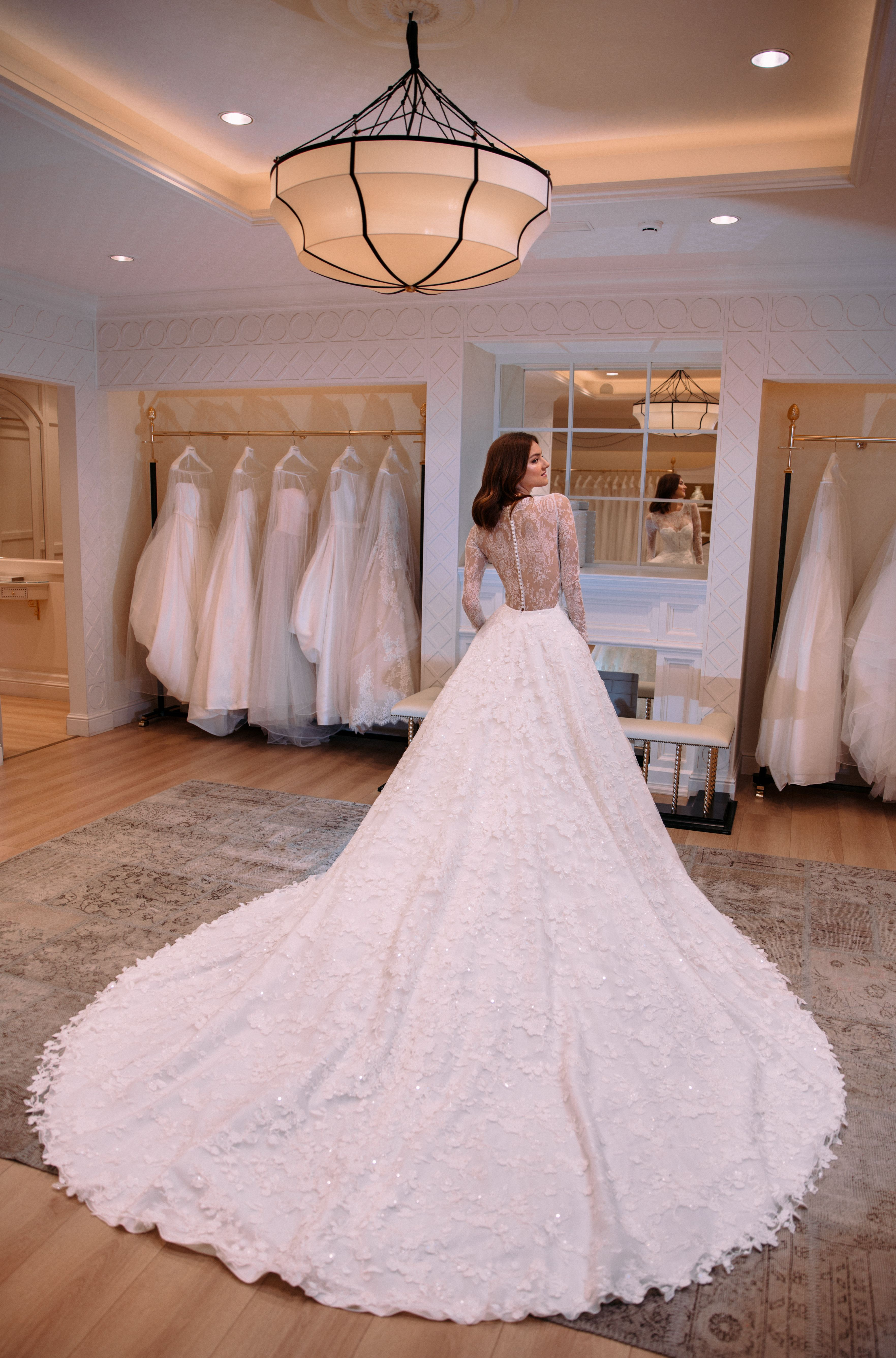 Ruth dress from Atelier Pronovias 2018 Collection... #SexyisForever ...