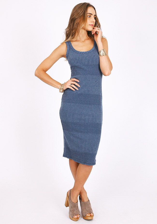 All About It Ribbed Dress at threadsence.com