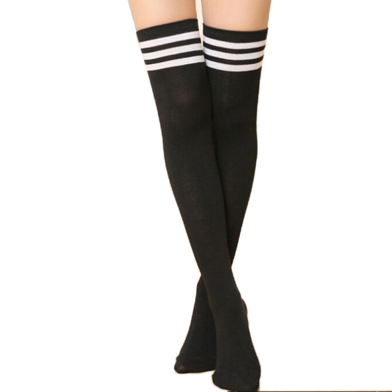 새로운 허벅지 높은 섹시한 스타킹 무릎 이상 여성 소녀