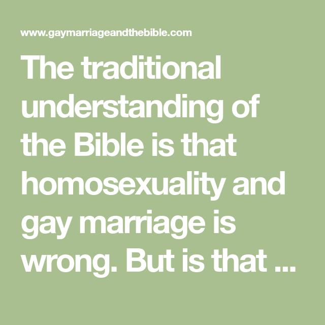 Six verses homosexuality