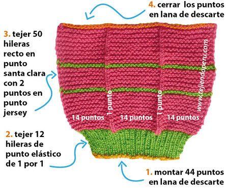 a265582d35ee0 Cómo tejer pantuflas en dos agujas o palitos para damas