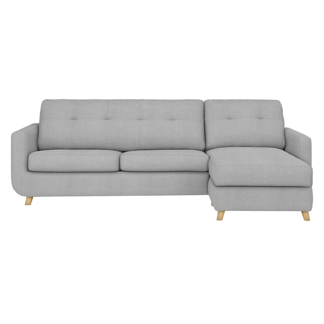 John Lewis Barbican Rhf Chaise Sofa Bed With Storage Online At Johnlewis