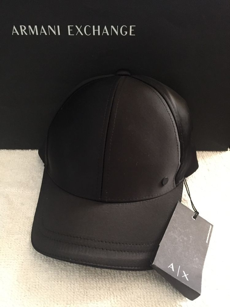 from  49.99 - New  Armani Exchange Men s Satin Cap  43303b792ac