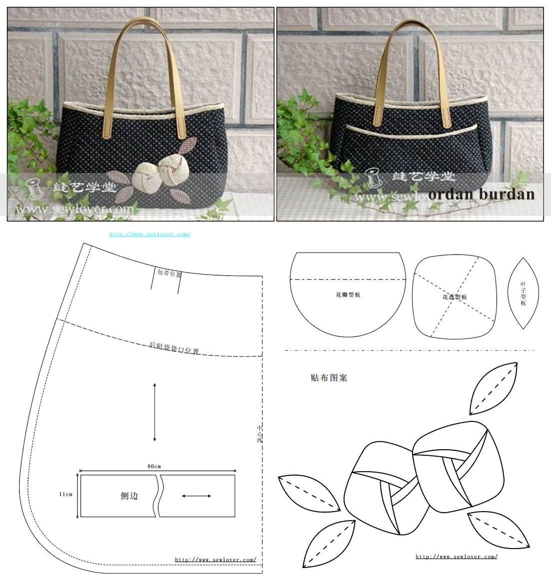 Bolsa De Tecido Pinterest : Bolsa de tecido patchwork bolsas