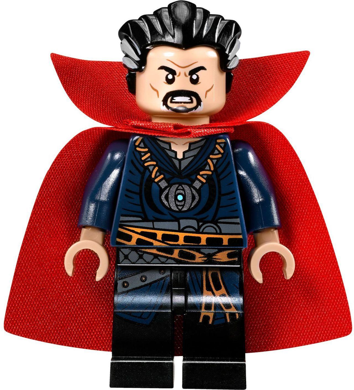 LEGO Docter Strange minifiguur. Uit de bouwset https://www.olgo.nl/lego-doctor-strange-s-sanctum-sanctorum-76060.html