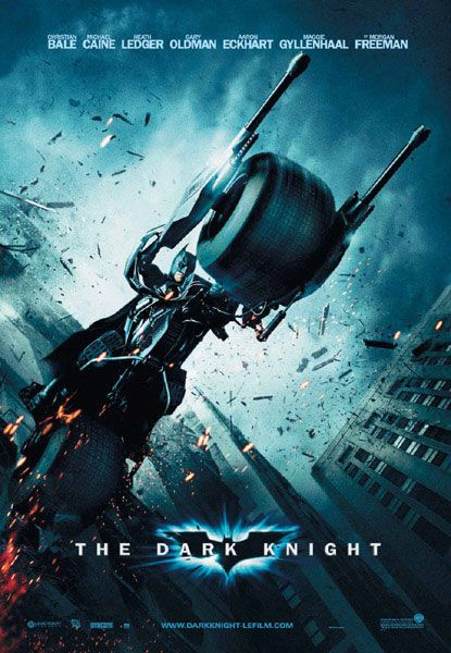 Poster Batman Moto The Dark Knight Batman O Filme Batman