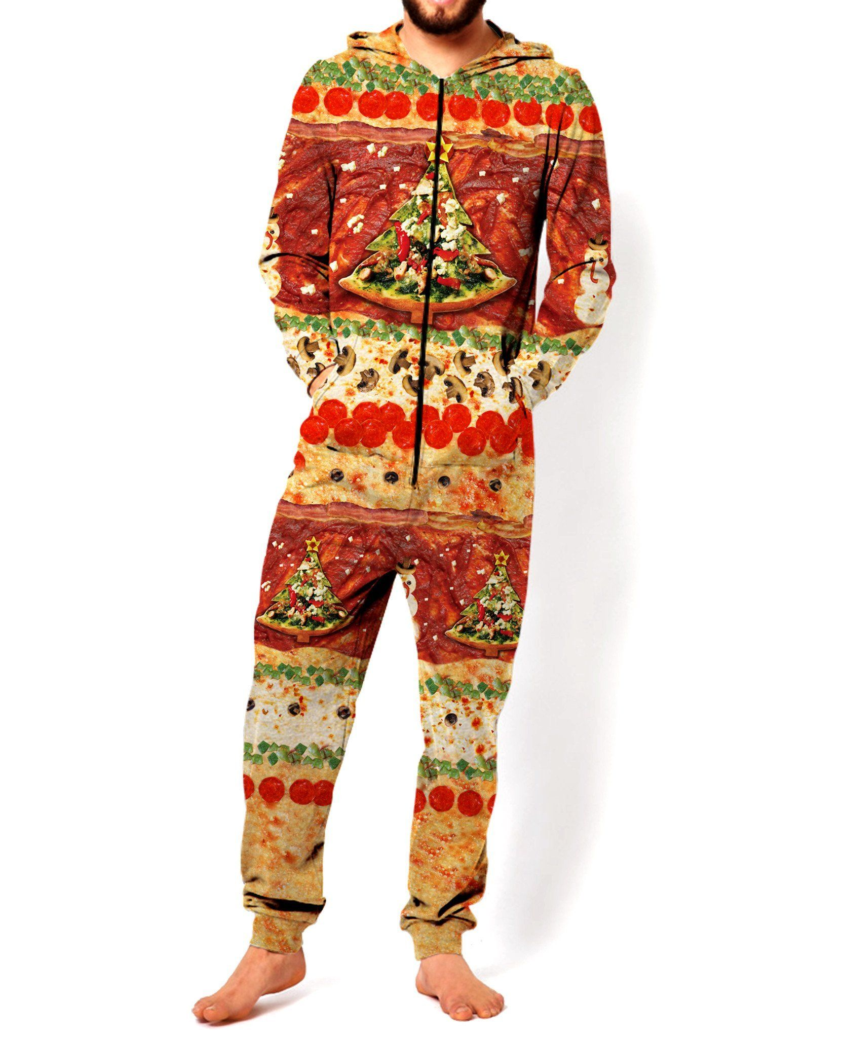 All I Want For Christmas is Pizza Onesie | Onesie, Pizzas and Products