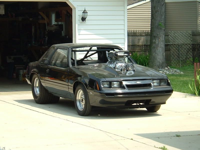 Tubbed Mustang Notch   Thread: now here is a 4-eyed FREAK!   Cars ...