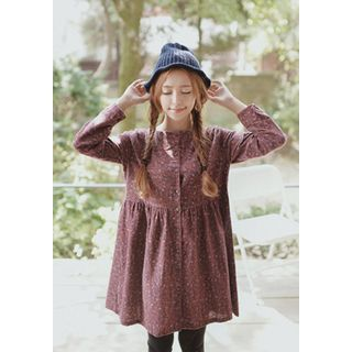 Buy 'GOROKE – Floral Pattern Mini Dress' with Free International Shipping at YesStyle.com. Browse and shop for thousands of Asian fashion items from South Korea and more!