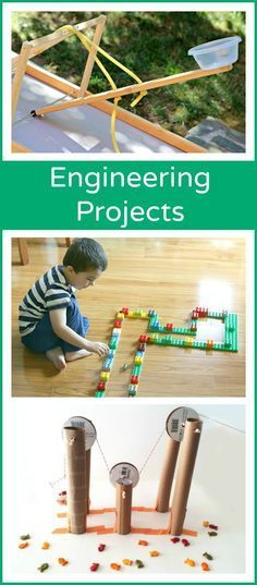 Engineering Activities for Kids - an awesome collection of ideas for children to try!