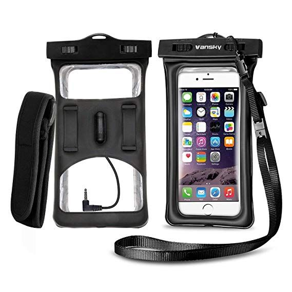 in stock 32809 237a3 Vansky Floatable Waterproof Phone Case, Waterproof Phone Pouch Dry ...